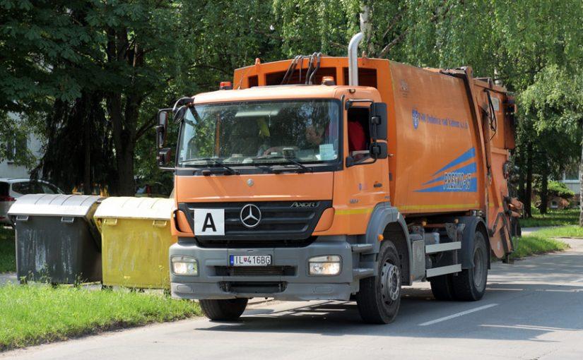 Úprava doby vývozu komunálneho odpadu