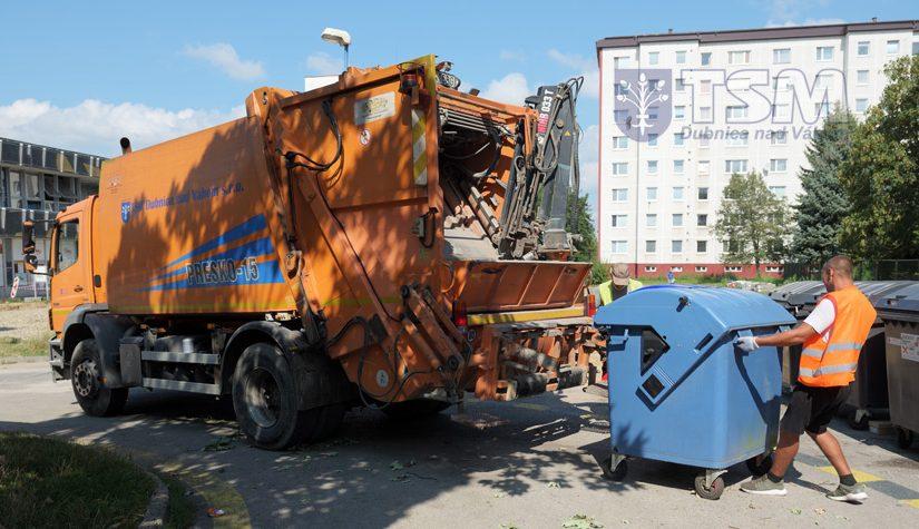 Zmena termínov vývozu komunálneho odpadu